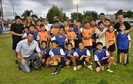 26/11/2018: La Liga Social de Fútbol tuvo su gran final en Villa Adela