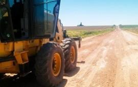 27/11/2018: Reconstruyen la trama vial del departamento Diamante afectada por las lluvias