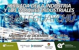 29/11/2018: Se realizará la jornada de industrias y parques industriales en Gualeguaychú