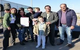 30/11/2018: Con fondos provinciales construirán 15 viviendas en Basavilbaso