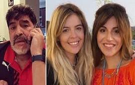 04/11/2019: Explosivo video de Diego Maradona contra Dalma y Gianinna: anunció que no recibirán su herencia y donará todos sus bienes