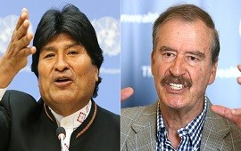 28/11/2019: Dictador, reeleccionista y otros calificativos que usó Vicente Fox lanzó contra Evo Morales