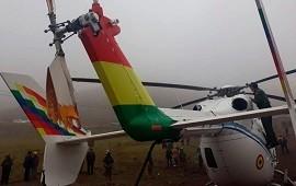 04/11/2019: Así cayó el helicóptero con Evo Morales a bordo