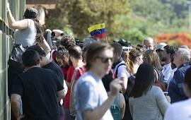 13/11/2019: Brasil: partidarios de Juan Guaidó ocuparon por la fuerza la embajada de Venezuela