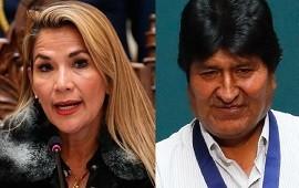 15/11/2019: ¿Proscripción? Jeanine Áñez puso en duda la participación de Evo Morales en las elecciones