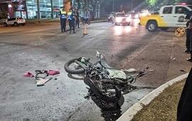 22/11/2020: Brutal accidente de tránsito en avenida Eva Perón