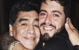 """25/11/2020: La conmovedora despedida de Diego Maradona Junior a su papá: """"El capitán de mi corazón nunca morirá"""""""