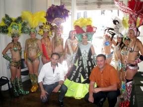 Se presentó el Carnaval de Concepción del Uruguay en Paraná