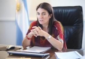 La ministra de Seguridad tomó juramento a los nuevos secretarios