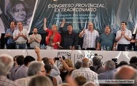 en Tres de Febrero En una muestra de unidad, el congreso del PJ bonaerense respaldó la gestión de Cristina