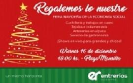Se realizará una Feria Navideña de la Economía Social