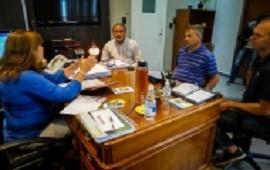 Jefes comunales destacaron los trabajos de Vialidad Provincial en Valle María y Piedras Blancas