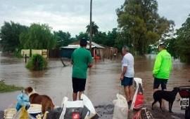 Más de 400 evacuados, dos desaparecidos y rutas cortadas por el temporal en Buenos Aires