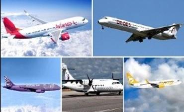 Las cinco empresas que buscan su lugar en el mercado aéreo argentino