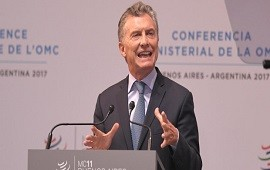 """12/12/2017: Macri en la OMC: """"Sabemos de los reparos que puede generar una apertura comercial"""""""
