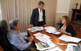 13/12/2017: Avanzan los proyectos productivos y de saneamiento para Feliciano