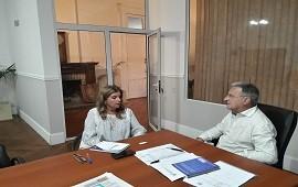 21/12/2017: Se evalúa un proyecto de reforma en oficinas del Instituto Becario