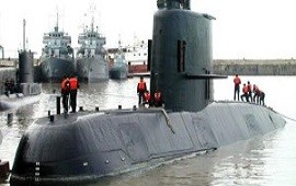 22/12/2017: A la espera de la llegada de más buques, la Armada sigue buscando el submarino con dos embarcaciones