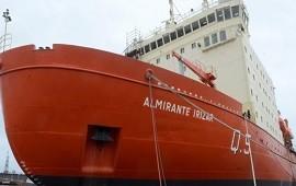 26/12/2017: Luego de una década de reparaciones, el Irízar partió hacia la Antártida