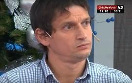 26/12/2017: Diego Lagomarsino se enteró del procesamiento mientras estaba al aire