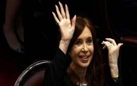 27/12/2017: Cristina Kirchner recuperó su antiguo despacho, el más grande del Congreso