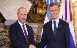 01/12/2018: Macri y Putin, juntos por tercera vez en el año: