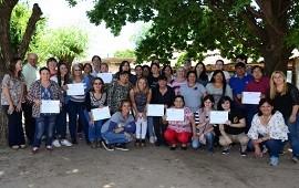 04/12/2018: Finalizó una capacitación para cooperativas y talleres textiles del Programa Cobijar