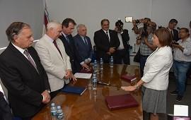 04/12/2018: El gobierno acompañó la puesta en funciones de la Cámara de Casación de Concordia