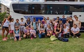 19/12/2018: Con 50 chicos de toda la provincia, se concretó en María Grande la 24ª edición del campamento para niños diabéticos.