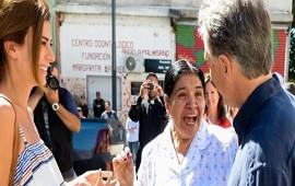 21/12/2018: Macri visitó la Fundación Los Piletones