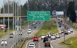 28/12/2018: Comenzó el éxodo turístico por la temporada de verano: viajan 2 mil autos por hora hacia a la Costa