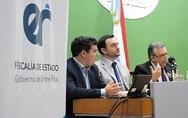 28/12/2018: Rodríguez Signes evaluó el trabajo realizado en la Fiscalía de Estado