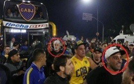 05/12/2018: Mafia del fútbol y complicidad policial y política: Di Zeo y Mauro Martín, en la despedida de Boca