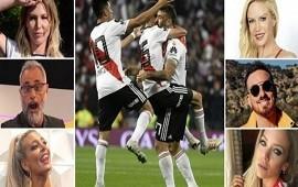10/12/2018: Cómo vivieron los famosos la consagración de River en la Superfinal contra Boca