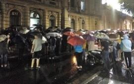 """112/12/2018: Manifestantes PROVida pidieron no votar """"a ningún candidato que defienda y promueva el Aborto y la Ideología de Género"""""""