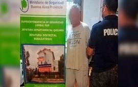 17/12/2018: Un concejal de Florencio Varela fue detenido por obligar a prostituirse a una menor