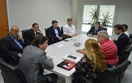 19/12/2018: El directorio del Iafas se reunió con delegados de ATE