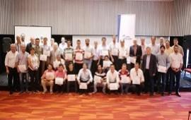 19/12/2018: Más de cien técnicos de las cooperativas se capacitaron en Salto Grande