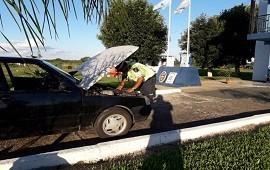 22/12/2018: Intentó salir de la provincia con un auto robado y fue detenido