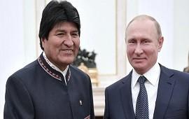 """04/12/2019: La confesión de Evo Morales: """"Quiero que haya presencia de Rusia en América Latina"""""""