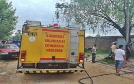05/12/2019: Parte médico de las personas afectadas por el incendio de calle Nogoyá