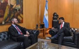 09/12/2019: Martín Guzmán y Hernán Lacunza se reunieron en el Palacio de Hacienda