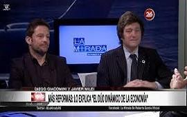 11/12/2019: Sin tregua: Giacomini / Milei cuestionan a Guzmán