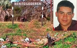 12/12/2019: Lo detuvieron en Corrientes por un crimen ocurrido en Benito Legerén hace 8 meses