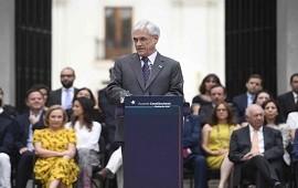 26/12/2019: Piñera denunció que los videos de la represión