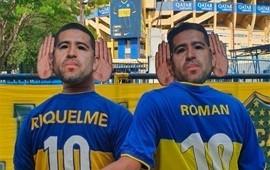 01/12/2019: Prohibieron a los hinchas ingresar con caretas de Juan Román Riquelme a la Bombonera