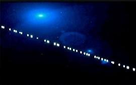 05/12/2019: ¿Qué explicación dieron los especialistas a la fila de luces que iluminó el cielo nocturno entrerriano?