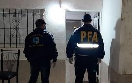 13/12/2020: Detuvieron a un hombre tras seis allanamientos conjuntos por narcomenudeo