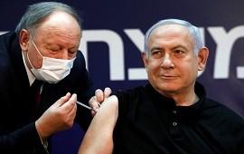 19/12/2020: Benjamin Netanyahu fue el primero en aplicarse la vacuna de Pfizer contra el coronavirus en Israel