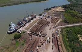 28/12/2020: En Ibicuy amarraron 15 buques que se llevaron casi 500 mil toneladas de madera a China